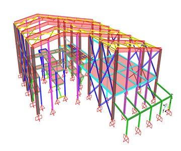 Edificios de pruebas metalúrgicas