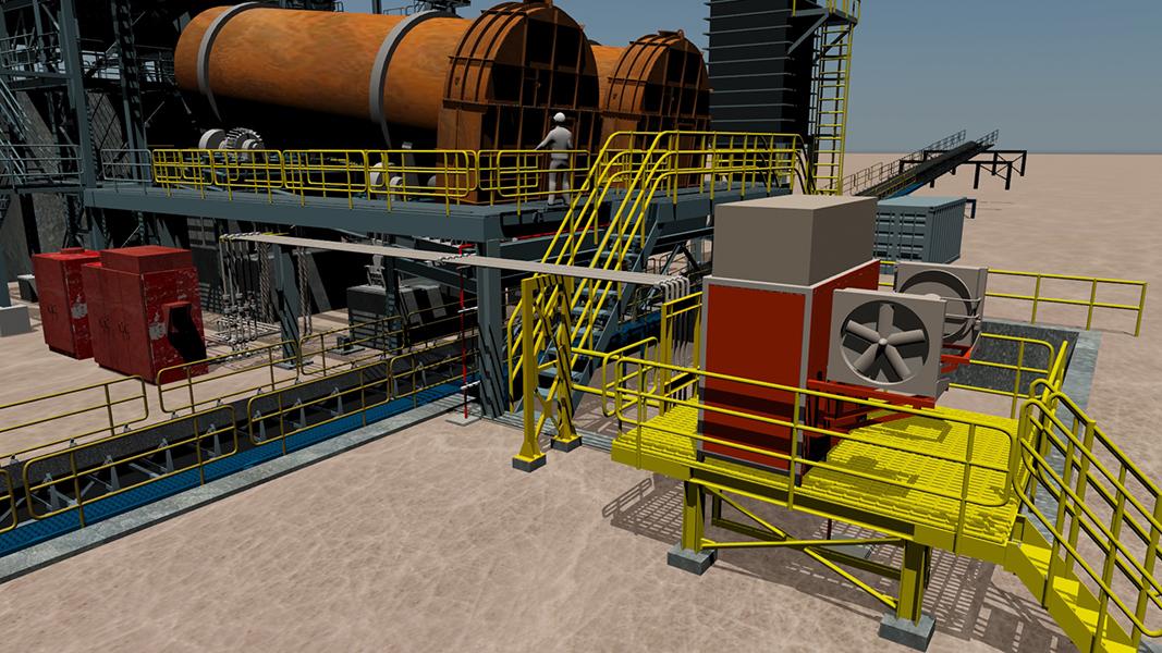 Unidad hidráulica stand by para tambores aglomeradores óxido - Minera Escondida